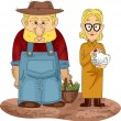 Stock Photo: Farming Couple