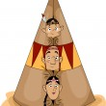Native American Family — Stock Photo #39464169