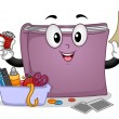 Stock Photo: Crafts Book Mascot