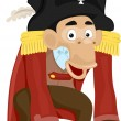 Pirate Monkey — Stock Photo