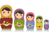 Matryoshka Dolls — Stock Photo