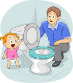 Potty Training — Stock Photo