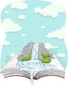 Water Book — Stock Photo