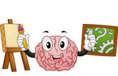 Left Brained Right Brained — Stock Photo