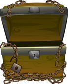 Pirate Treasure Chest — Stock Photo