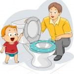 Toddler Flush — Stock Photo #46203367