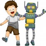 Robot Boy — Stock Photo #46207997