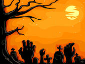 Graveyard Zombies — Stock Photo