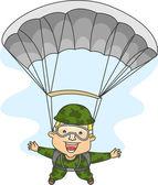 Paratrooper — ストック写真