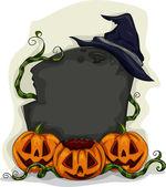 Halloween Tombstone Frame — Stock Photo