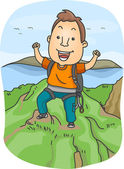 Mountain Climber — Stock Photo