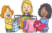 Clothes Swap — Stock Photo