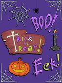 Halloween Design Elements — Stock Photo