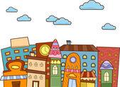 Cityscape Buildings — Stock Photo