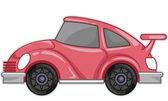 Pink Car — Foto Stock