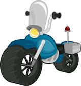 Police Motorbike — Stock Photo