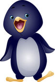 Waddling Penguin — Stock Photo