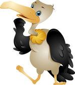 Cute Vulture — Stock Photo