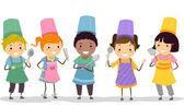 Kiddie Chefs — Stock Photo