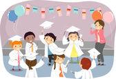 Kids Graduation — Stock Photo