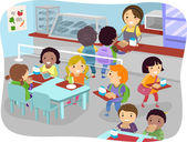 Canteen Kids — Fotografia Stock