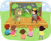 Kids Show — Stock Photo
