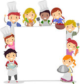 Cooking Classes Board — Stock Photo