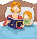Bedtime Story — Stock Photo