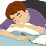 Guy Dozing Off to Sleep — Stock Photo #46211573