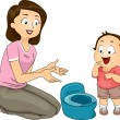 Potty Training — Stock Photo #46214729