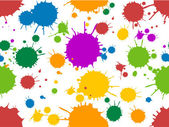 Colorful Splats — Stock Photo