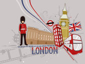 London Scrapbook — Stock Photo
