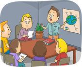 Environmental Meeting — Stock Photo