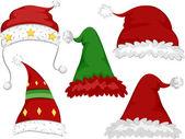 圣诞帽子 — 图库照片