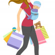 Shopping Baby — Stock Photo #48931413