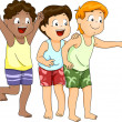 Beachwear Boys — Stock Photo #48931985