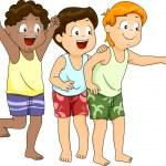 Beachwear Boys — Stock Photo
