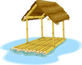 Floating Hut — Stockfoto