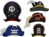 Pirate Hats — Stock Photo