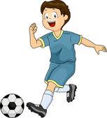 Soccer Boy — Stock Photo