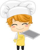 Baker Boy — Stock Photo