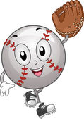 Baseball Mascot — Stock Photo