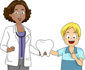 Tooth Presentation — Foto de Stock