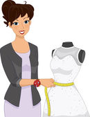 Dress Alteration Mannequin — Stock Photo