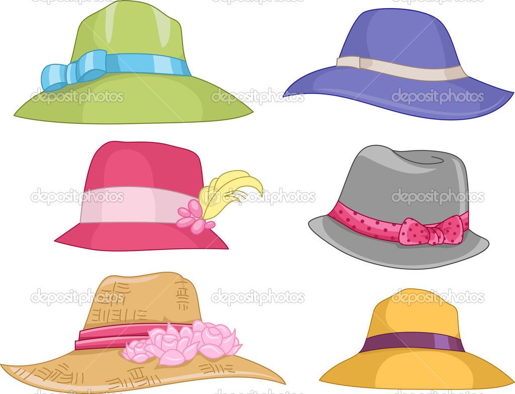 Ladies cappelli — Foto Stock © lenmdp #48931429