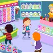 Kids in a Candy Store — Stock Photo #51514037