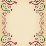 Ornamental Swirls Frame — Stock Photo #51515739