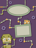 Robots Frames — Stock Photo