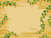 Vines and Woods Background — Stock Photo