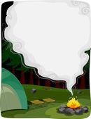Bonfire Background — Stock Photo